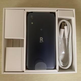 ラクテン(Rakuten)のrakuten mini 楽天ミニ ナイトブラック 新品未使用(スマートフォン本体)