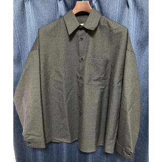 Marni - 20AW MARNI トロピカルウールシャツ 定価60500円