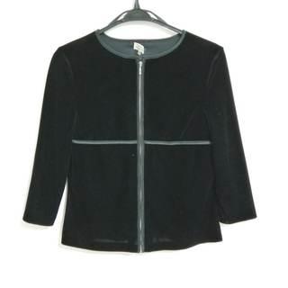 バレンシアガ(Balenciaga)のバレンシアガ ブルゾン サイズ38 M美品  黒(ブルゾン)