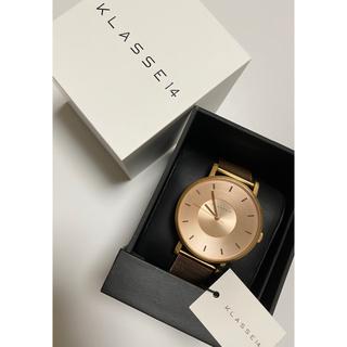 ビームス(BEAMS)のklasse14 クラスフォーティーン 42mm ローズゴールド(腕時計)