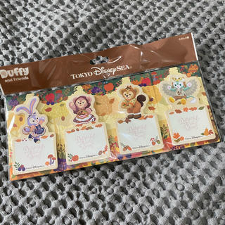 Disney - ダッフィー&フレンズ 秋テーマ メモ帳