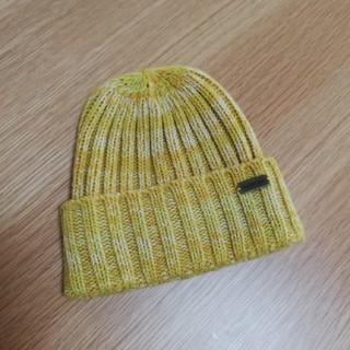 アンパサンド(ampersand)の【AMPERSAND】黄色ニット帽(48-50㎝)(帽子)