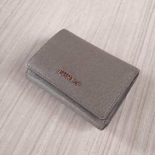 フルラ(Furla)のフルラ FURLA コンパクトミニ財布 三つ折り財布 グレー(財布)