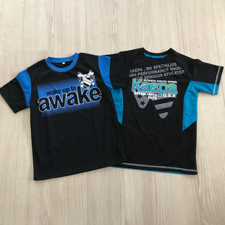 【新品未使用】awake  kaepa Tシャツ 140cm  2枚セット