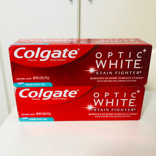 クレスト(Crest)の【新品】Colgate歯磨き粉 オプテイックホワイト ステインファイター(歯磨き粉)