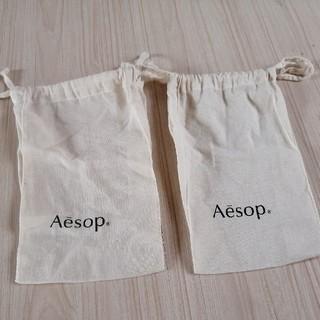 イソップ(Aesop)のイソップ aesop ポーチ 2個(ショップ袋)