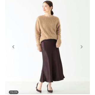 BEAMS サテンスカート サイズ36