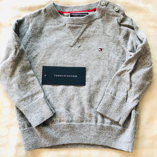 トミーヒルフィガー(TOMMY HILFIGER)のトミーヒルフィガー 薄手セーター 74 男の子 無地 シンプル(ニット/セーター)