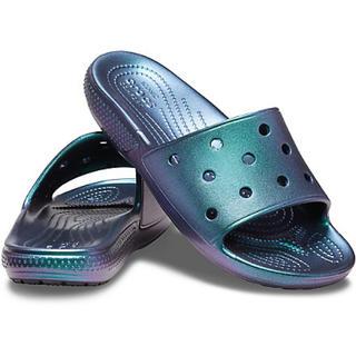 クロックス(crocs)の新品 メタリック Classic Crocs Iridescent Slide(サンダル)