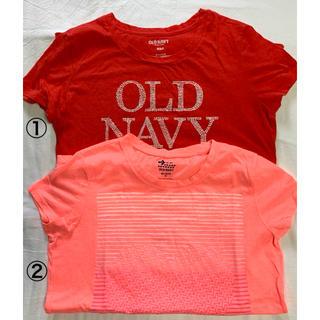 オールドネイビー(Old Navy)のOLD NAVY  Tシャツ  2枚セット レディース (Tシャツ(半袖/袖なし))