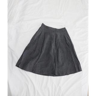マーガレットハウエル(MARGARET HOWELL)のプリーツスカート(ひざ丈スカート)