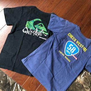 クイックシルバー(QUIKSILVER)のQUIKSILVER Tシャツ2枚セット(Tシャツ(半袖/袖なし))