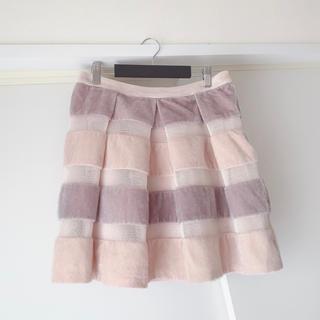 Lochie - Lochie ロキエ ファー×メッシュ スカート