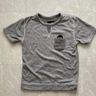 ハーレー(Hurley)のHurley ハーレー パイル地半袖カットソー メンズM グレー(Tシャツ/カットソー(半袖/袖なし))