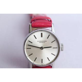 インターナショナルウォッチカンパニー(IWC)のIWCレディス腕時計 アイダブリュシー腕時計 IWCアンティーク腕時計(腕時計)