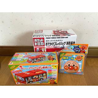 バンダイ(BANDAI)の男の子用おもちゃ3点セット 新品未開封♪(電車のおもちゃ/車)