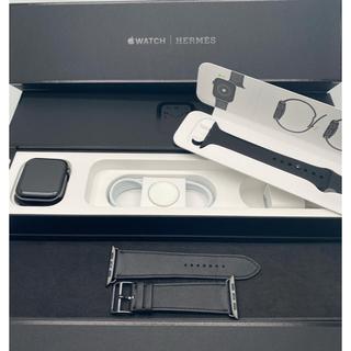 アップルウォッチ(Apple Watch)のアップルケア+付 Apple Watch series5 HERMES 44mm(腕時計(デジタル))