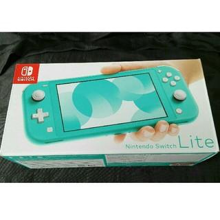 ニンテンドースイッチ(Nintendo Switch)の未使用品◇Nintendo Switch Lite ターコイズ(携帯用ゲーム機本体)