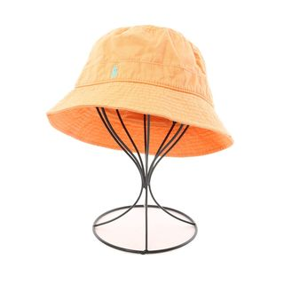 ラルフローレン(Ralph Lauren)のラルフローレン ハット L美品  オレンジ系(ハット)