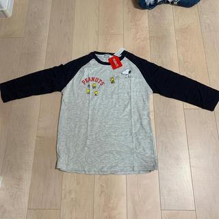 ピーナッツ(PEANUTS)の最終値下げ)タグ付き スヌーピー長袖Tシャツ(Tシャツ/カットソー(七分/長袖))