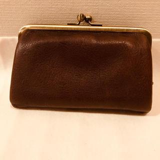 ツチヤカバンセイゾウジョ(土屋鞄製造所)の土屋鞄 がま口 小銭入れ ヌメ革(財布)