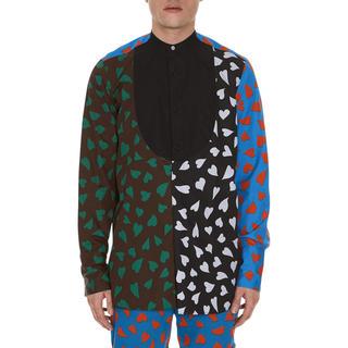 ジェイダブリューアンダーソン(J.W.ANDERSON)の新品jwanderson ハートプリントシャツ(シャツ)
