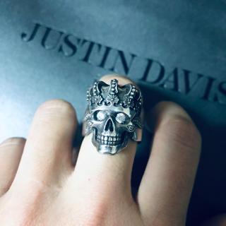 ジャスティンデイビス(Justin Davis)のJustin Davis トランプリング srj570(リング(指輪))