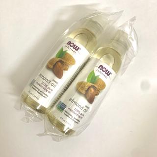 ムジルシリョウヒン(MUJI (無印良品))の新品未開封★Now Foodsアーモンドオイル 2本(ボディオイル)
