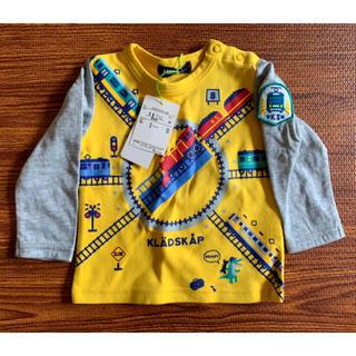 クレードスコープ(kladskap)の《Er*様専用》新品 kladskap シャツ 電車(Tシャツ)