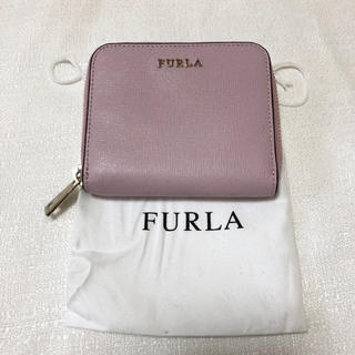 フルラ(Furla)のFURLA フルラ ラウンドファスナー 二つ折り財布 本革 レザー(財布)