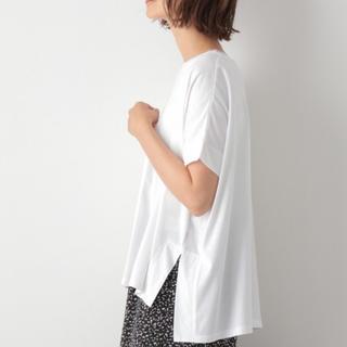 LEPSIM - LEPSIM 白 ワイド Tシャツ