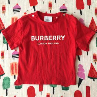 バーバリー(BURBERRY)のBurberryロゴT♡(*´ω`σ)σ18M(Tシャツ)