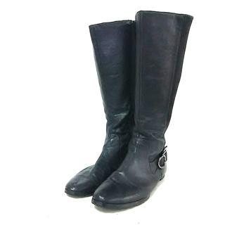 カルバンクライン(Calvin Klein)のカルバンクライン ロングブーツ 9M 黒(ブーツ)