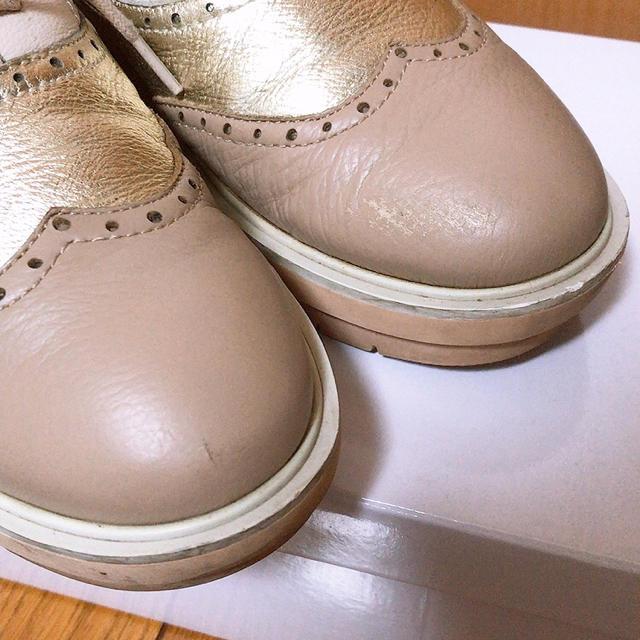 あしながおじさん(アシナガオジサン)のあしながおじさん  レースアップシューズ レディースの靴/シューズ(ローファー/革靴)の商品写真