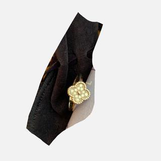 ヴァンクリーフアンドアーペル(Van Cleef & Arpels)のヴァンクリーフ アルハンブラ 指輪(リング(指輪))