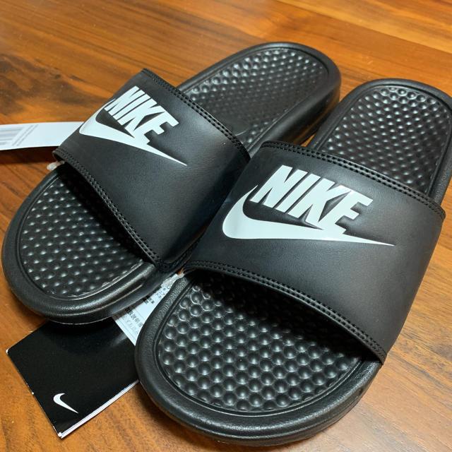 NIKE(ナイキ)のナイキ ベナッシ 24cm 黒 ブラック レディースの靴/シューズ(サンダル)の商品写真