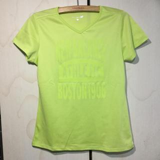 ニューバランス(New Balance)のnew  balance  レディース コンプレッション Tシャツ(蛍光)(ウェア)