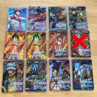 BANDAI - 処分価格!ミラクルバトルカードダス ワンピース 限定カード 12枚セット 美品