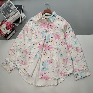 グッチ(Gucci)のファッション カラフルデニムジャケット    シャツ  長袖(シャツ/ブラウス(長袖/七分))