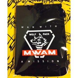 マンウィズアミッション(MAN WITH A MISSION)のMAN WITH A MISSION マルチウォレット ブラック 新品未開封(ミュージシャン)