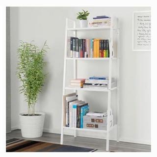 イケア(IKEA)の IKEA シェルフ 棚 ホワイト ラック (棚/ラック/タンス)