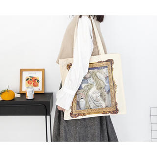 Francfranc - 絵画プリントトートバッグ