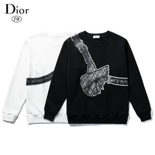 ディオール(Dior)のDIOR トレーナー/スウェット タイムセール 白/黒2枚セット(スウェット)