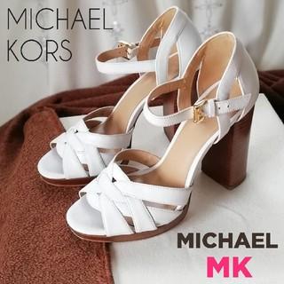 Michael Kors - マイケル マイケルコース/チャンキーヒール/サンダル*パンプス6.5(23.5)