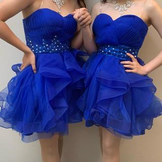 CECIL McBEE - 新品 パーティー ドレス 結婚式 ブルー キャバドレス