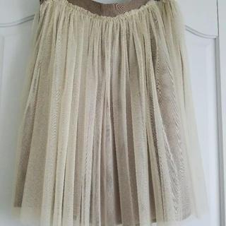 ドゥーズィエムクラス(DEUXIEME CLASSE)のドゥーズィエム チュールスカート(ひざ丈スカート)