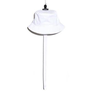 PEACEMINUSONE - PMO COTTON BUCKET HAT #2 WHITE