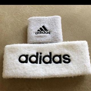 アディダス(adidas)のアディダスヘアバンド リストバンド(ヘアバンド)