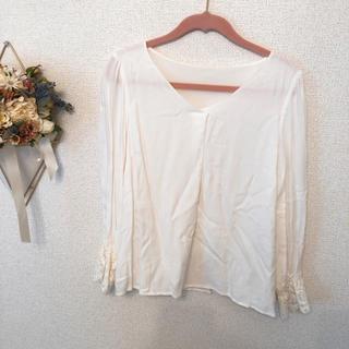 プロポーションボディドレッシング(PROPORTION BODY DRESSING)の袖レースブラウス(シャツ/ブラウス(長袖/七分))