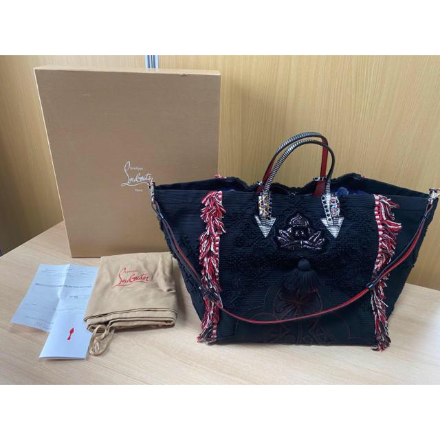 Christian Louboutin(クリスチャンルブタン)のクリスチャン ルブタン フリンジトートバッグ メンズのバッグ(トートバッグ)の商品写真